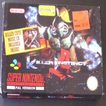 JEU SNES KILLER INSTINCT - image 1