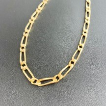 Chaine Maille Cheval Or 750 Millième (18 CT) 22,90g - image 1