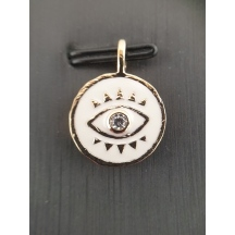 2769510 Pendentif Pl.or Email Oxyde - image 1